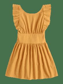 Mustard dress zaful