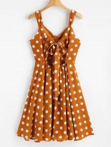 polka dress zaf2