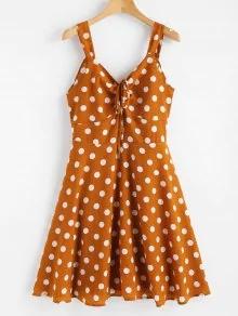 polka dress zaful